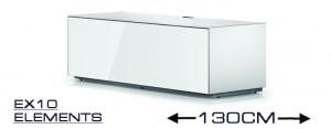 EX 10 TV-Möbel Breite 130 cm