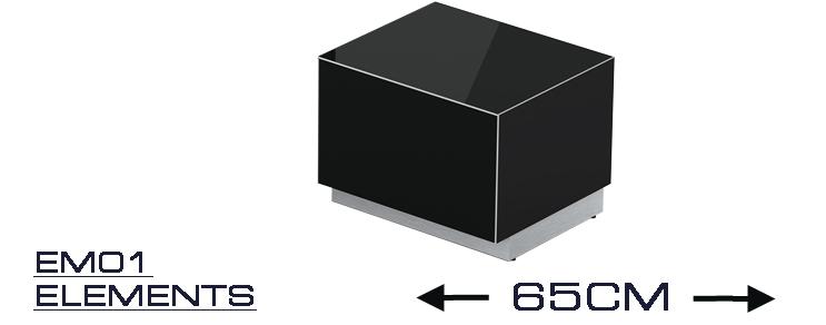 EM 01 TV cabinet width 25,6 inch