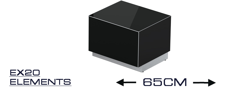 EX 20 TV-Möbel Breite 65 cm