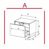 Lowboard Sonorous Elements EX20-D-A - TV-Möbel mit Schublade / kombinierbar